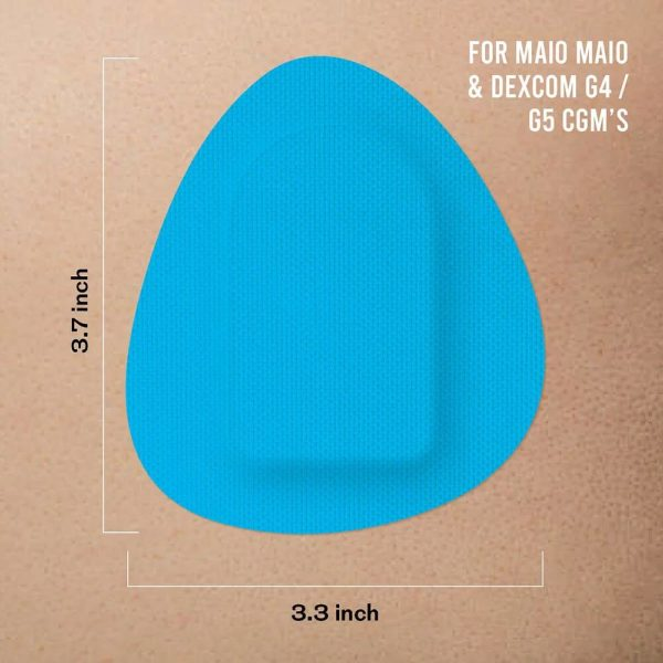 Miao Miao & Dexcom G4/G5 patch Blue | Not Just a Patch