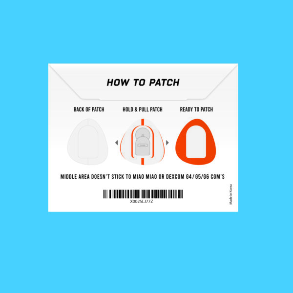 Dexcom G4/G5/G6 and MiaoMiao orange instructions Not just a patch