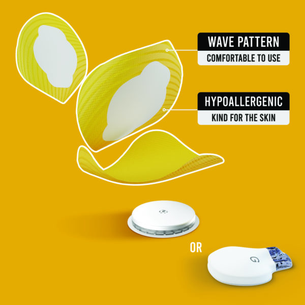 Freestyle libre and Medtronic guardian yellow patches benefits