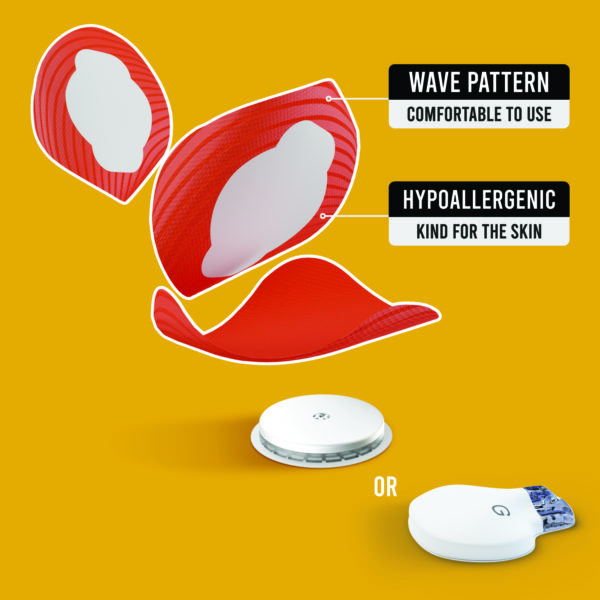 Freestyle libre and Medtronic guardian orange patches benefits Not just a patch