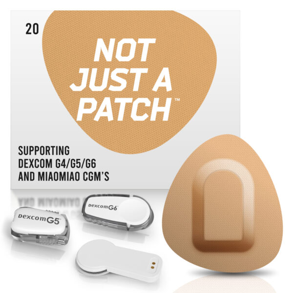 beige Dexcom G4/G5/G6 patches and MiaoMiao 1&2 Not just a patch