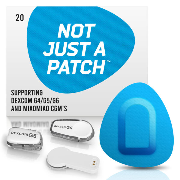 Blue Dexcom G4/G5/G6 patches and MiaoMiao Not just a patch