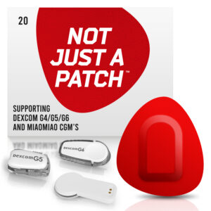 red Dexcom G4/G5/G6 patches and MiaoMiao patches Not just a patch