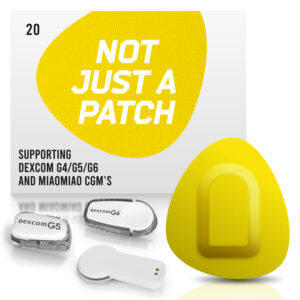 Dexcom G4/G5/G6 adhesive patches and MiaoMiao Not just a patch