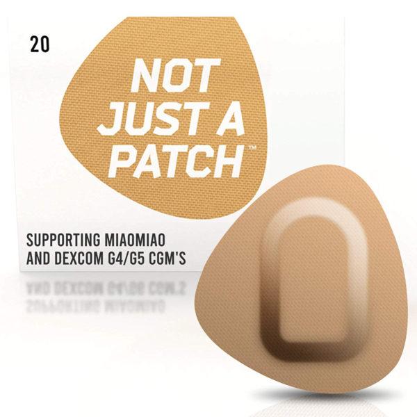 Miao Miao & Dexcom G4/G5 patch Beige | Not Just a Patch