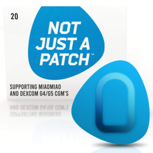 Miao Miao & Dexcom G4/G5 patch Blue | Not Just a Patch