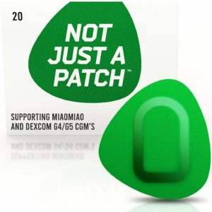 Miao Miao & Dexcom G4/G5 patch Green | Not Just a Patch