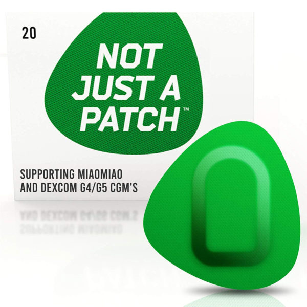 Miao Miao & Dexcom G4/G5 patch Green | Not Just a Patch