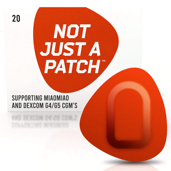 Miao Miao & Dexcom G4/G5 patch Orange | Not Just a Patch
