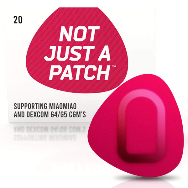 Miao Miao & Dexcom G4/G5 patch Pink | Not Just a Patch