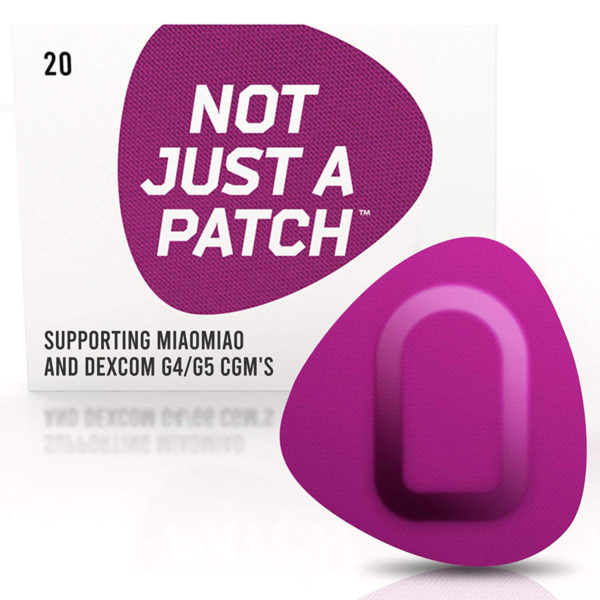 Miao Miao & Dexcom G4/G5 patch Purple | Not Just a Patch