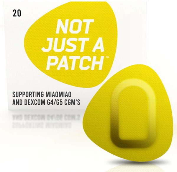 Miao Miao & Dexcom G4/G5 patch Yellow | Not Just a Patch