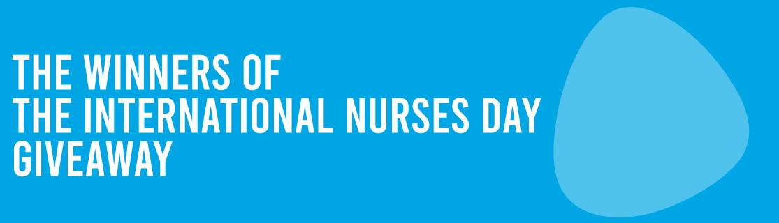 Winners of the International Nurses Day Giveaway
