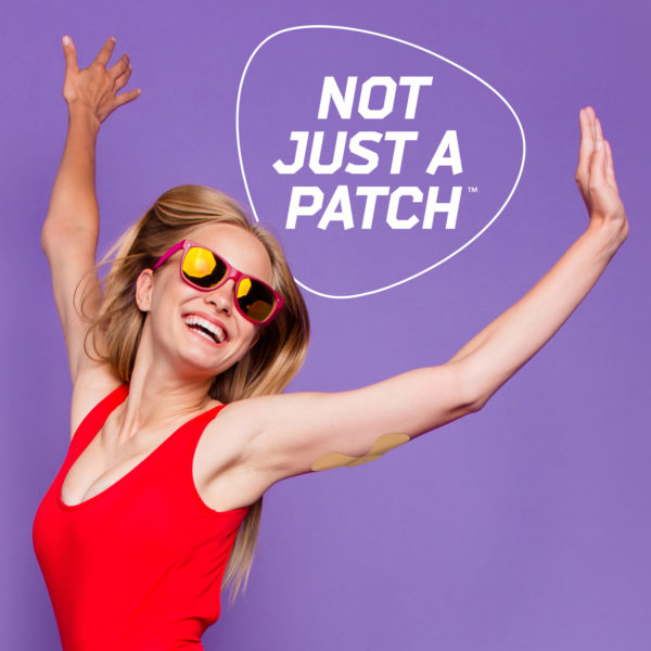 cgm patches beige
