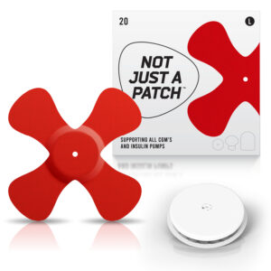 freestyle libre patch red color