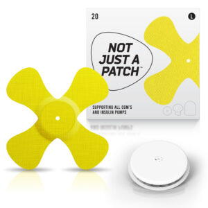freestyle libre patch yellow color