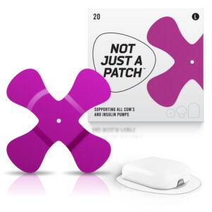omnipod patch purple color